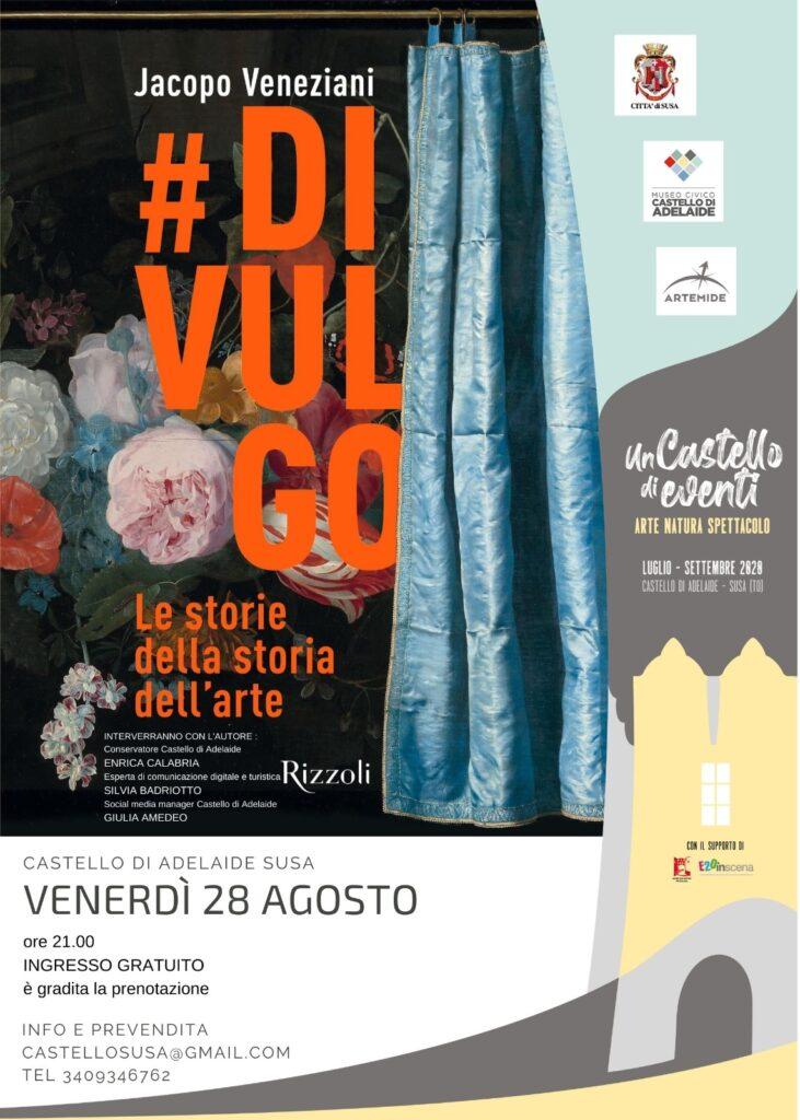 Presentazione Libro #DIVULGO di Jacopo Veneziani - castello susa