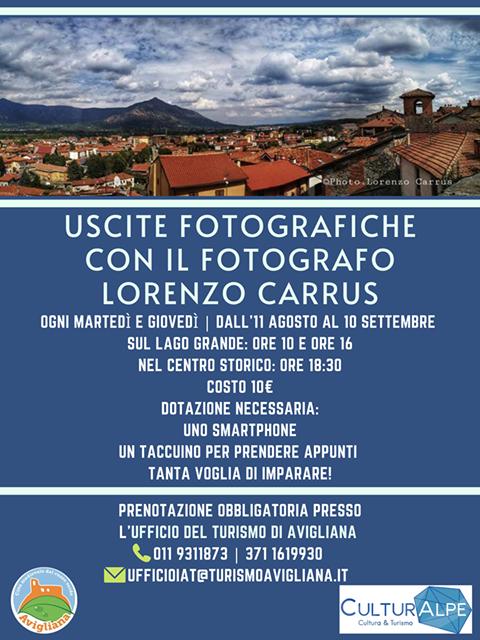 Uscite fotografiche con ufficio del turismo di Avigliana