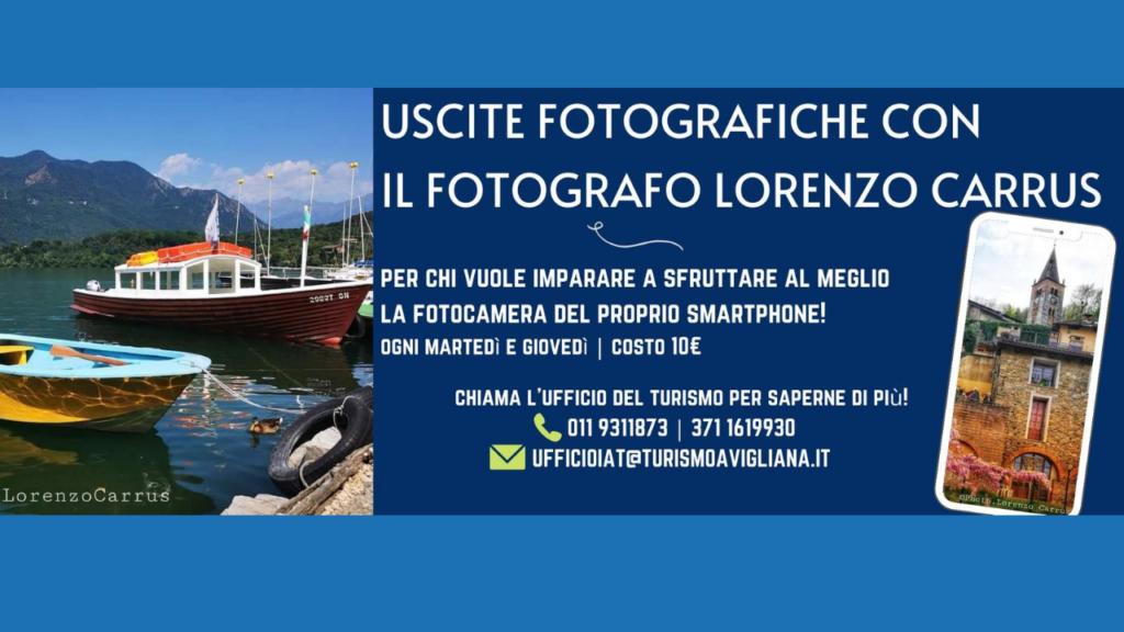 uscite fotografiche con ufficio del turismo di Avigliana.