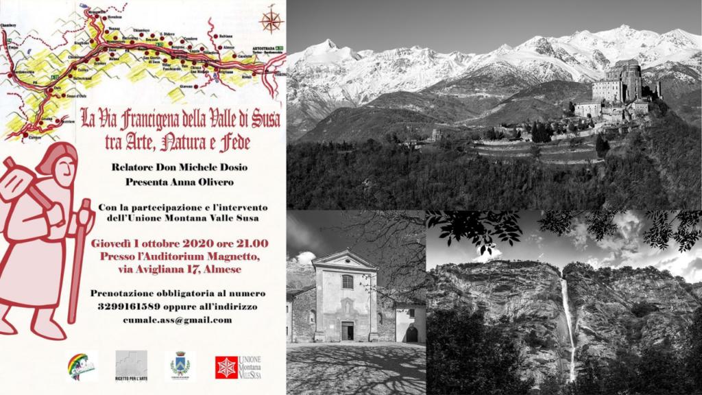 Conferenza e camminata sulla Via Francigena ad Almese - Valle di Susa