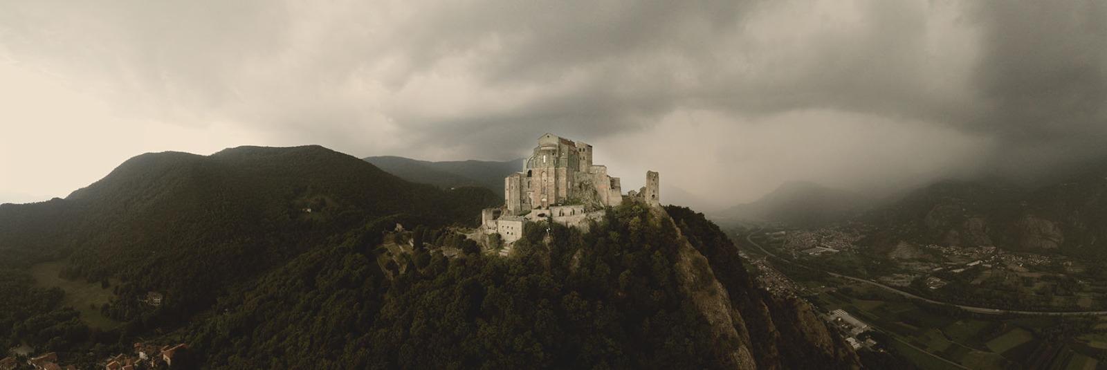 Panorama Sacra di San Michele - Foto Claudio Allais