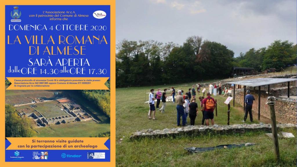 Visita alla villa romana di Caselette - 4 ottobre 2020