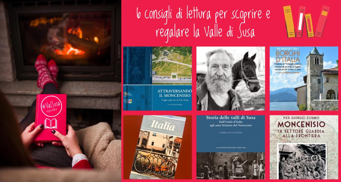 6 consigli di lettura per scoprire e regalare la Valle di Susa