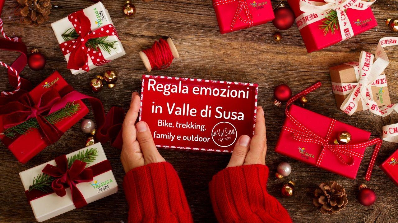 Regala emozioni in Valle di Susa. Buoni e idee per Natale 2020
