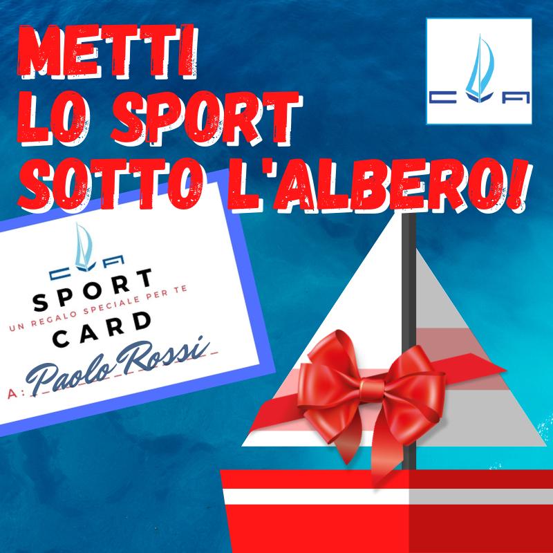 SPORT CARD Natale al Circolo velico di Avigliana