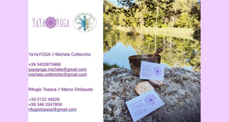 Info Yoga nel parco Orsierà Rocciavrè - Valle di Susa Turismo