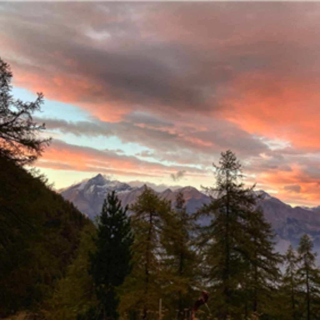 Yoga nel Parco Orsiera Rocciavrè - panorama Val Susa