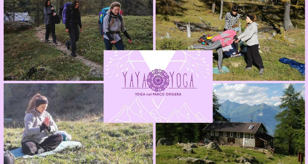 Yoga nel parco Orsierà Rocciavrè - Valle di Susa Turismo 1