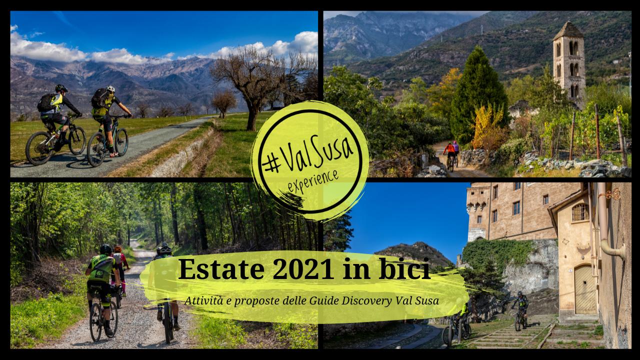 Estate 2021 in bici: Attività e proposte delle Guide Discovery Val Susa