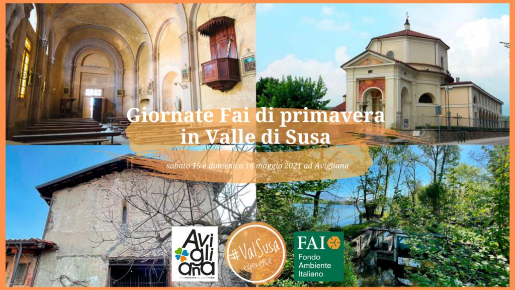 Giornate Fai di primavera 2021 in Valle di Susa - Val Susa Turismo