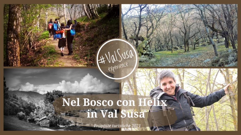 Nel Bosco con Helix - Proposte turistiche 2021 - Val Susa Turismo