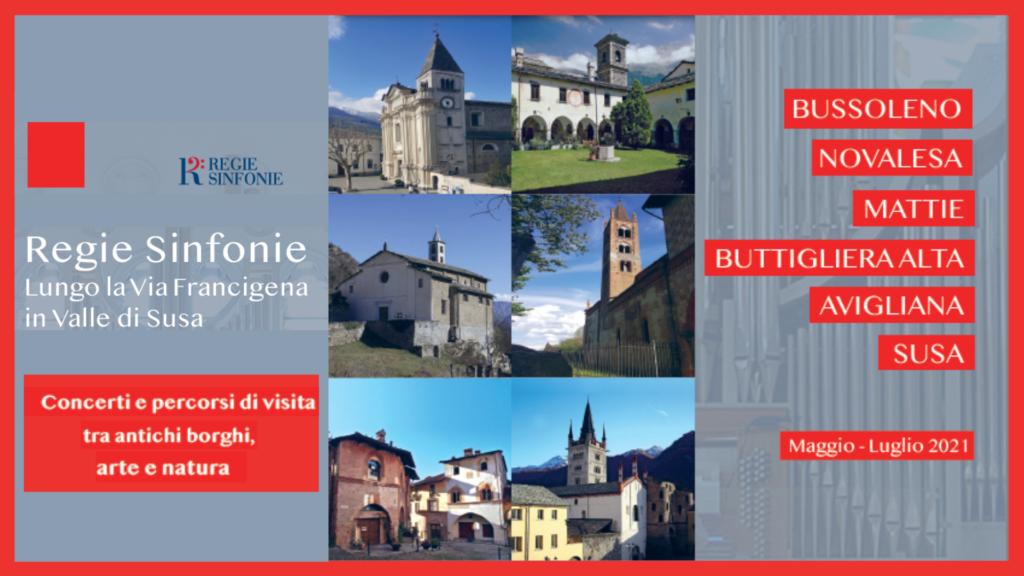 Regie Sinfonie Concerti e visite sulla via Francigena in Valle di Susa