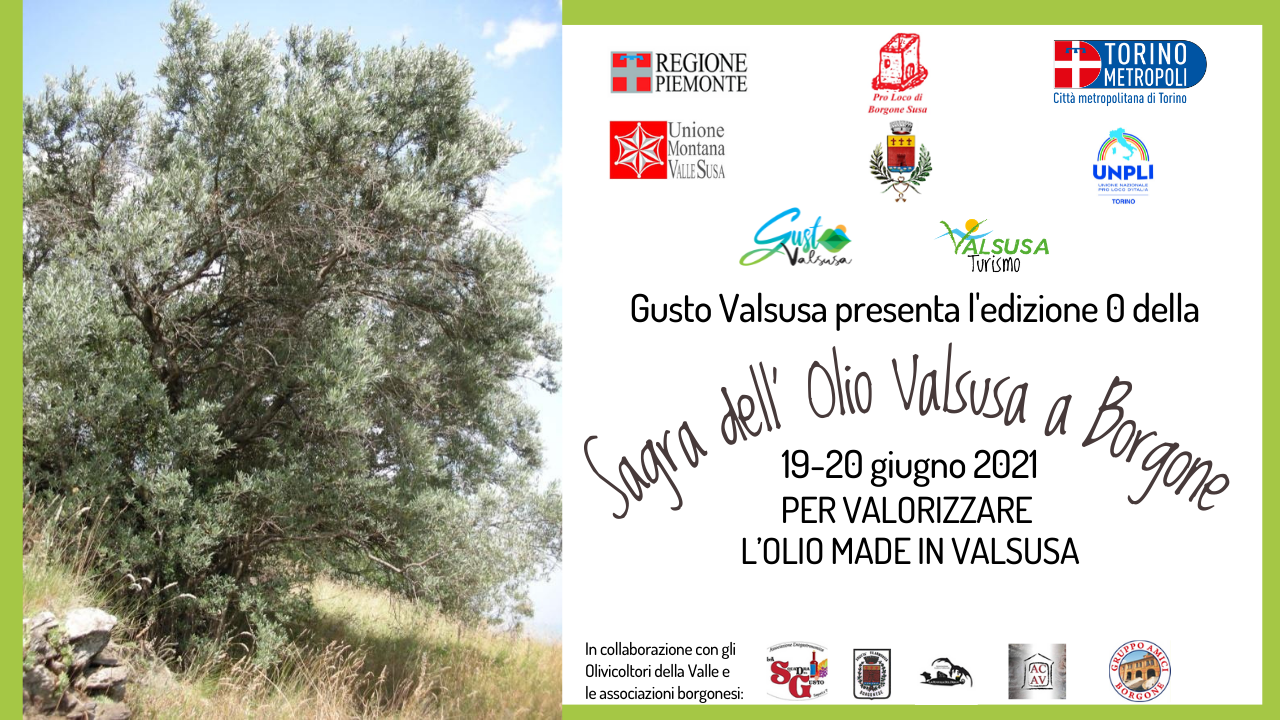 La Sagra dell'Olio Valsusa a Borgone 19-20 giugno | GustoValSusa