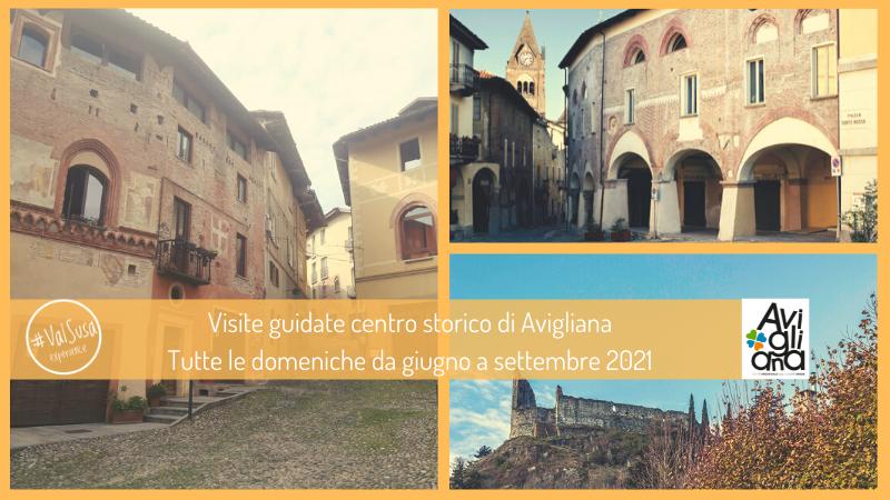 Visite guidate centro storico di Avigliana Estate 2021- Val Susa Turismo