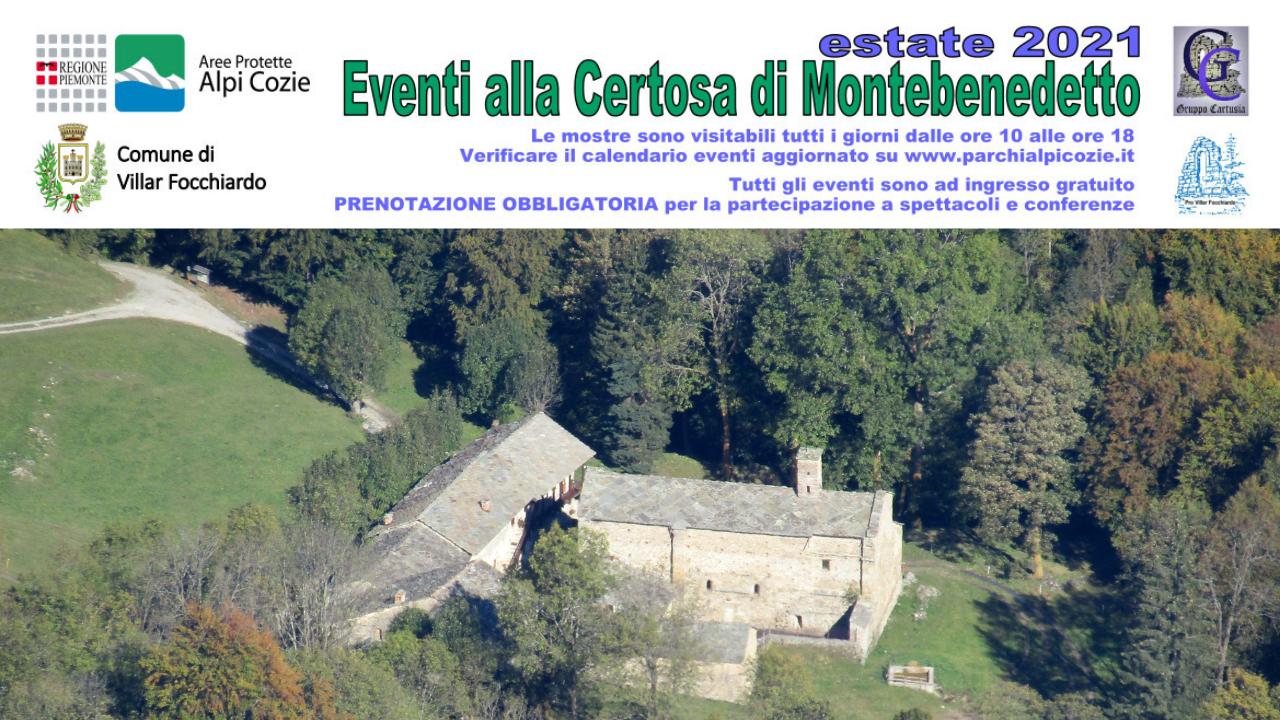 Certosa di Montebenedetto: apertura e mostre da giugno a settembre 2021