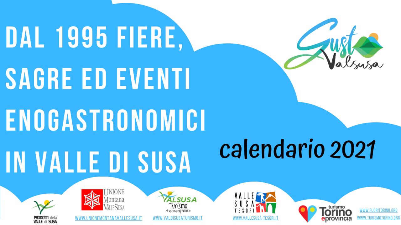 Calendario Gusto ValSusa 2021: eventi e manifestazioni in programma