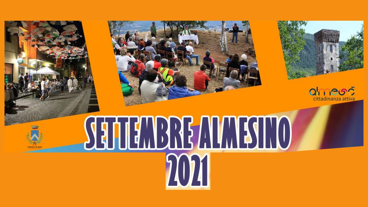 Settembre Almesino 2021- Un mese di Eventi ad Almese