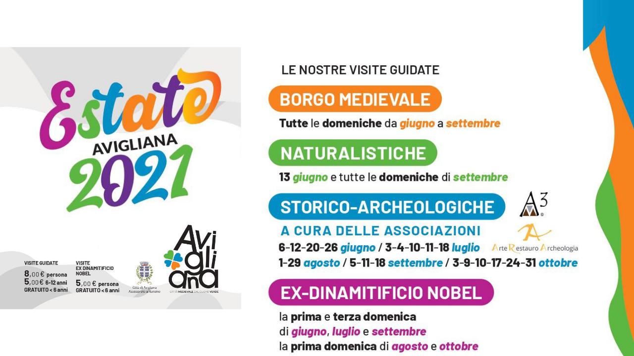 Visite guidate con l'ufficio del turismo ad Avigliana – Estate 2021